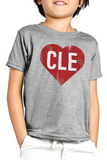 CLE Heart - Kids Crew - CLE Clothing Co.