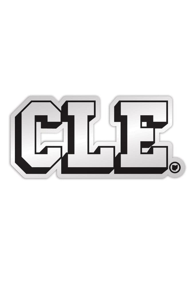 CLE College - Black & White - Sticker