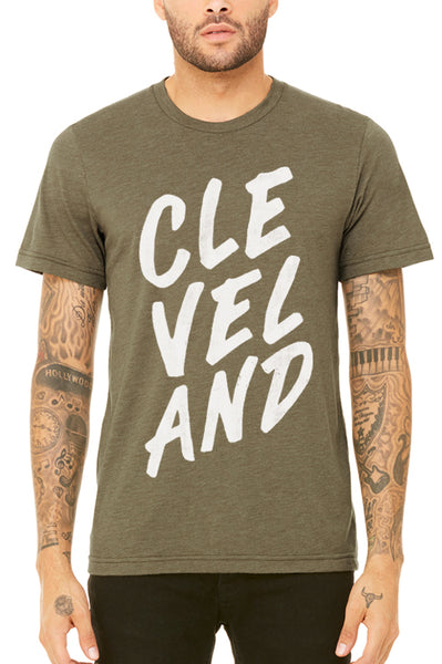 CLE VEL AND - Hand Drawn Type - Unisex Crew - CLE Clothing Co.