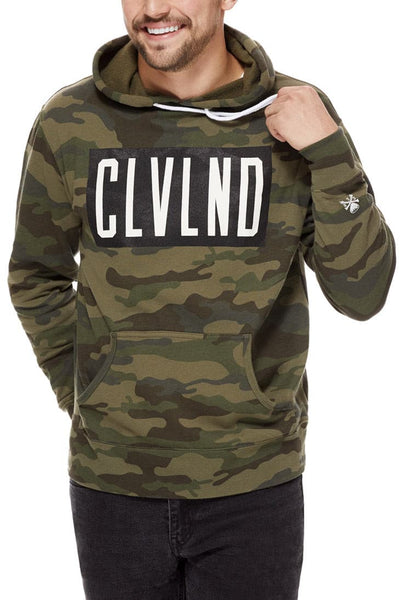 CLVLND CAMO - Unisex Pullover Hoodie - CLE Clothing Co.