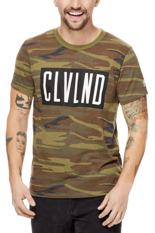 CLVLND CAMO - Unisex Crew - CLE Clothing Co.
