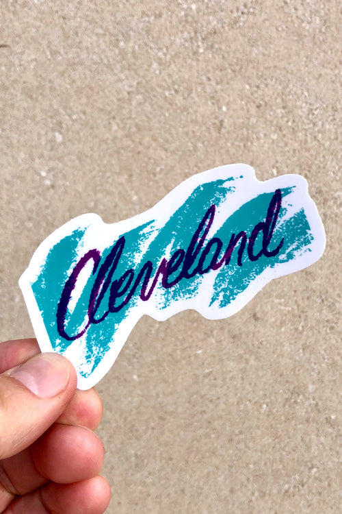 Cleveland Jazz Sticker
