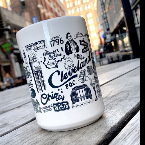 Cleveland Collage Coffee Mug