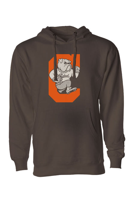 CLE College - Brown/Orange - Pullover Hoodie