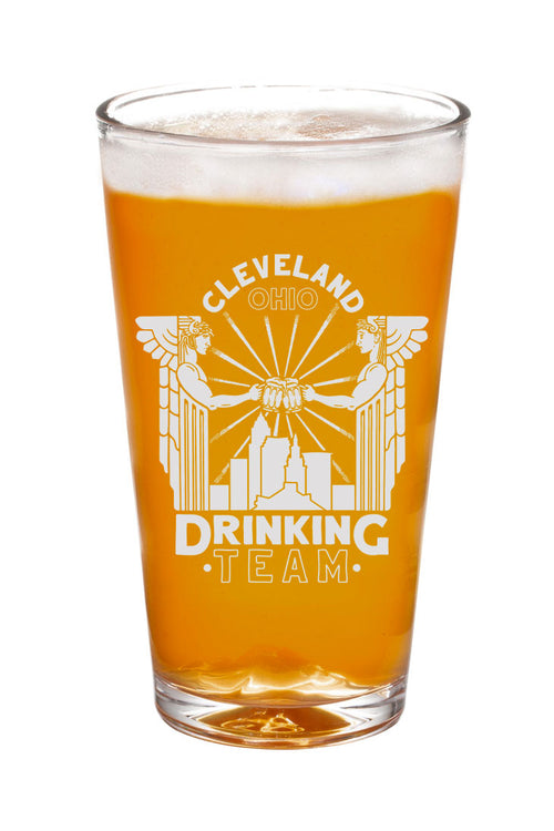 Cleveland Drinking Team Pint Glass