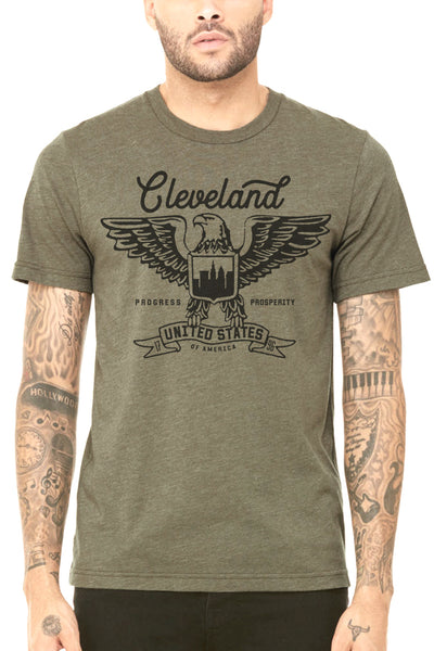 Cleveland Eagle - Unisex Crew - CLE Clothing Co.