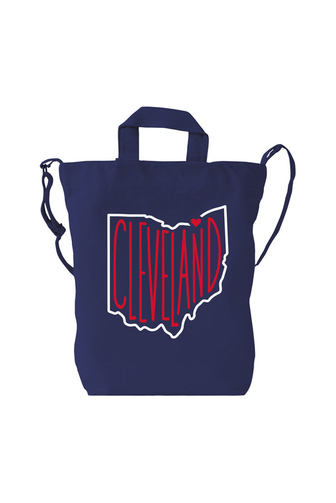 Cleveland, Ohio Hand Drawn - Tote Bag
