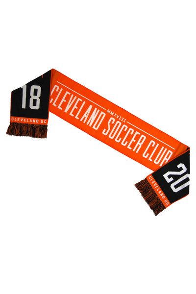 We are CLE Soccer Scarf
