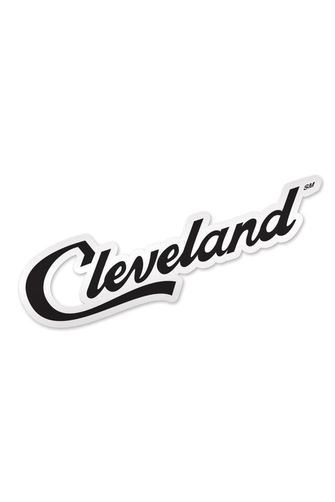 Cleveland Script Sticker Cle Clothing Co