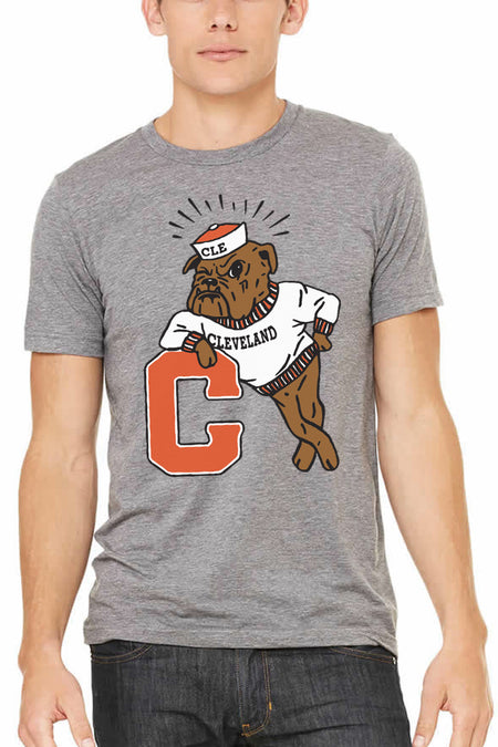 Cleveland Repeat - Brown/Orange - Unisex Crew