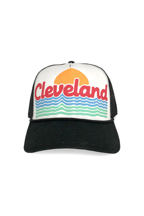 Cleveland Waves Trucker Hat