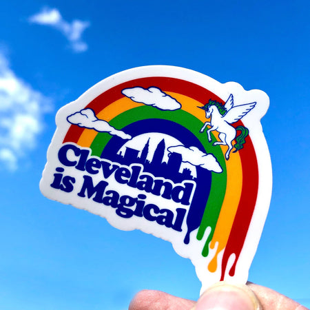 Cleveland Sunset - Sticker