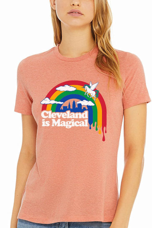 Cleveland is Magical - Womens Relaxed Fit Crew