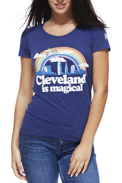 Cleveland Is Magical - Womens Crew