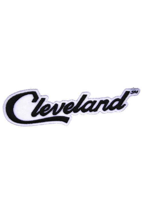 Cleveland Script - Iron on Patch