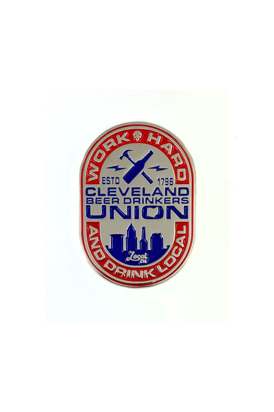 Cleveland Beer Drinkers Union - Enamel Pin - CLE Clothing Co.