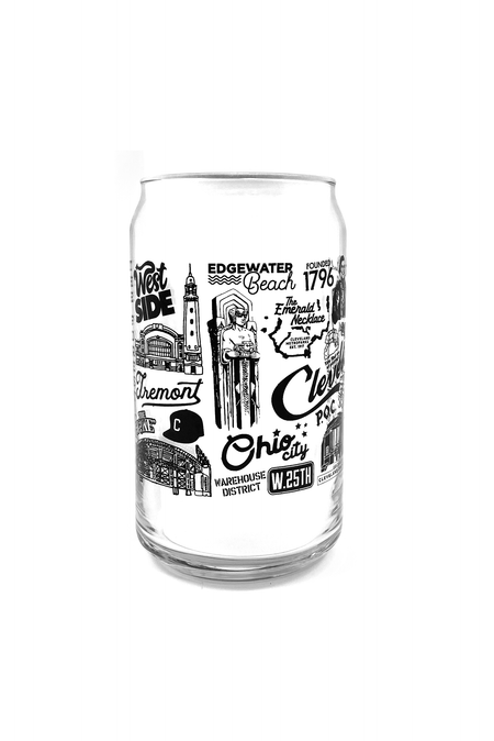 Give me Cleveland or Give me Death Shot Glass
