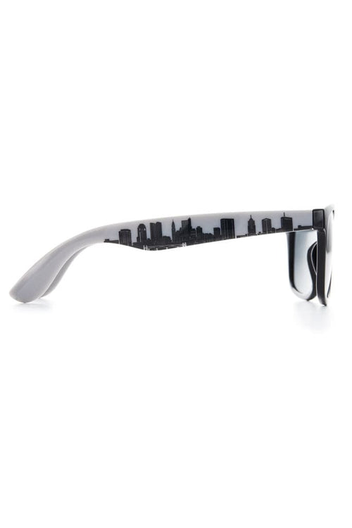 Columbus Skyline Sunglasses - Black - CLE Clothing Co.