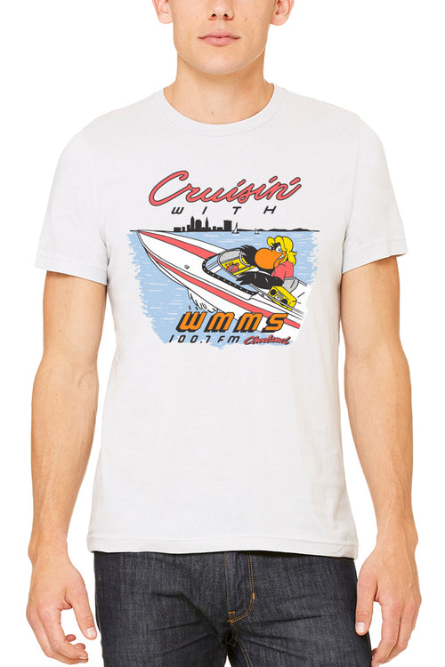 Cruisin' With WMMS - Unisex Crew - CLE Clothing Co.