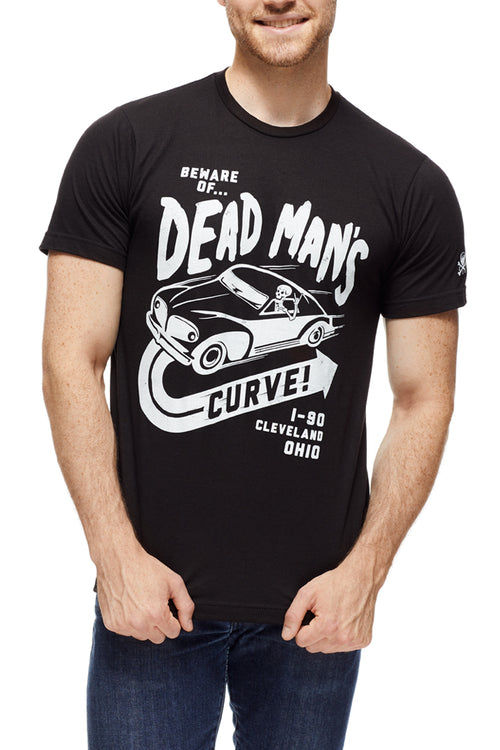 Beware of Dead Man's Curve - Unisex Crew - CLE Clothing Co.