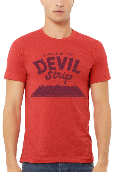 Beware Of The Devil Strip - Unisex Crew - PRE-ORDER