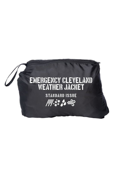 Emergency Cleveland Weather Puffer Jacket - LIMITED EDITION - CLE Clothing Co.