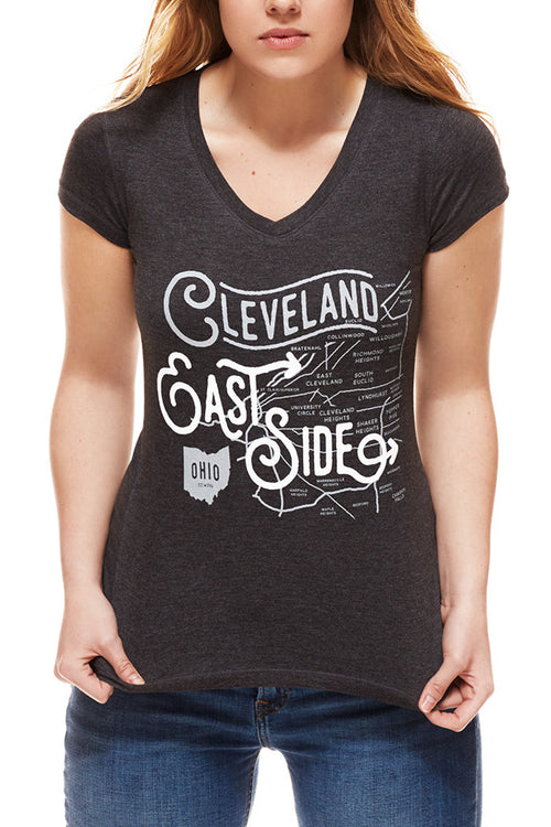 East Side Neighborhoods - Women's V-Neck
