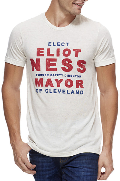 Elect Eliot Ness - Unisex Crew - CLE Clothing Co.