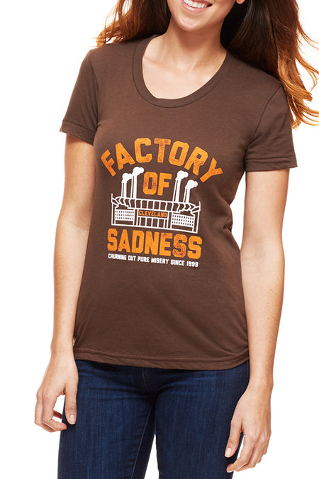 Ohio Pocket - Black & Orange - Women's V-Neck