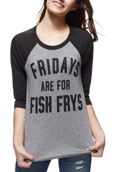Fridays are for Fish Frys - Unisex Raglan