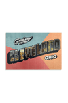 Greetings From Cleveland Postcard - CLE Clothing Co.