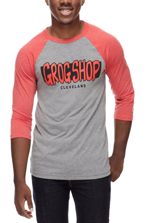 The Grog Shop - Unisex Raglan - CLE Clothing Co.