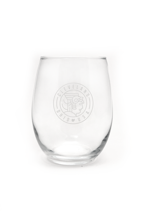 Guardian Seal Stemless Wine Glass - CLE Clothing Co.