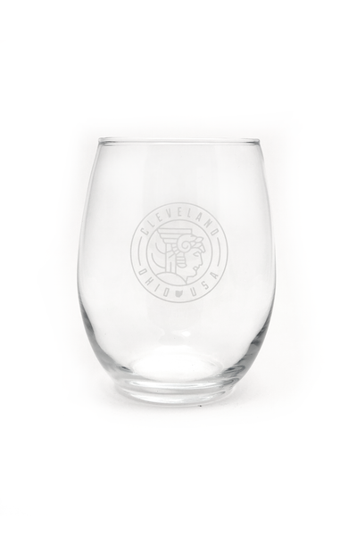Guardian Seal Stemless Wine Glass