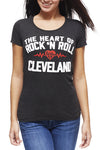 The Heart Of Rock 'N Roll - Womens Crew