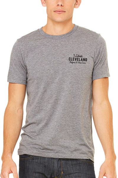 I Liked Cleveland Before it was Cool - Embroidered - Unisex Crew – CLE  Clothing Co. f204be968
