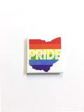 Ohio Pride - Fridge Magnet - CLE Clothing Co.
