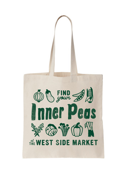Find Your Inner Peas - Tote Bag