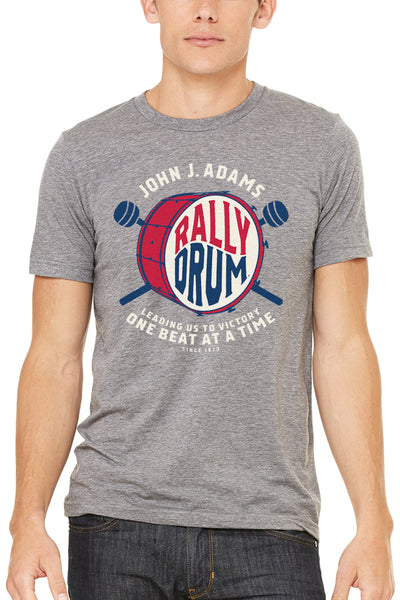 John J Adams Rally Drum - Unisex Crew - CLE Clothing Co.
