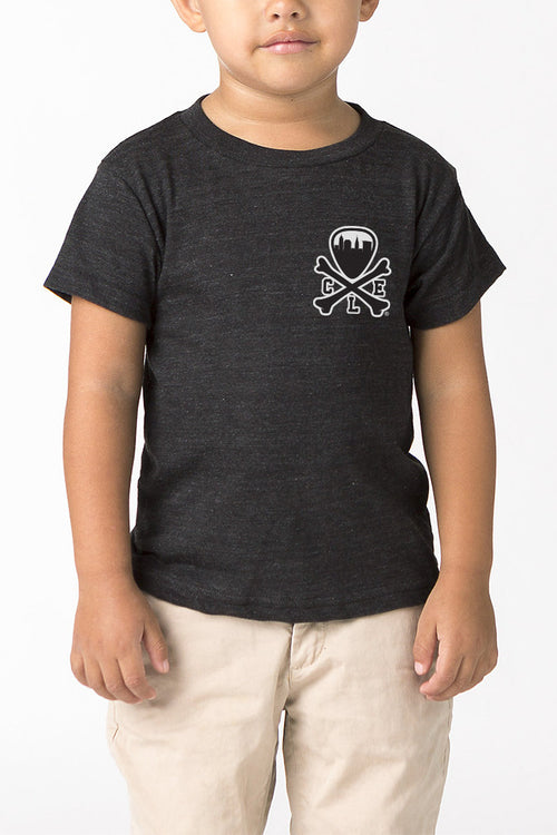 CLE Logo - Kids Crew - Black - CLE Clothing Co.