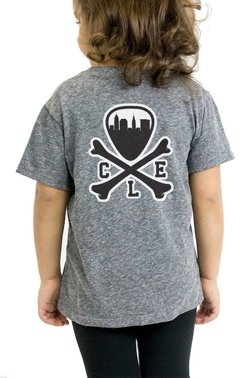 CLE Logo - Kids Crew - Grey