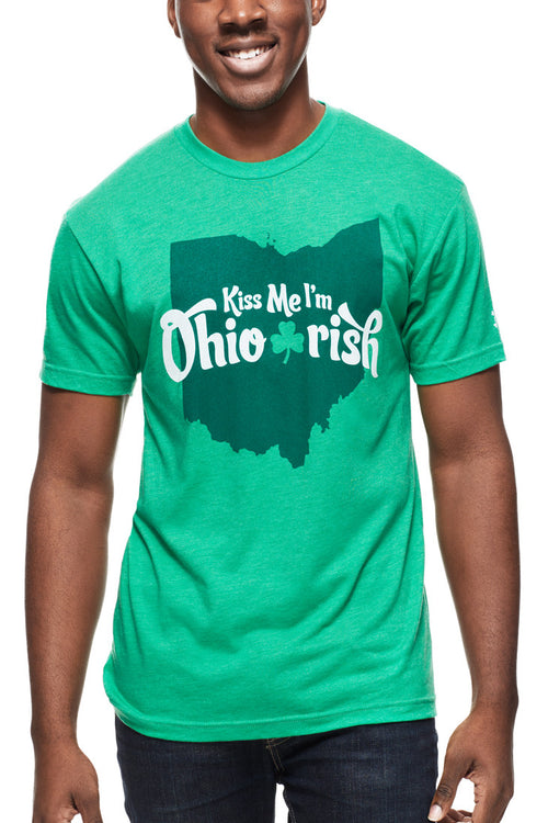Kiss Me, I'm Ohio Irish - Unisex Crew