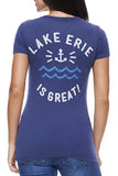 Lake Erie Is Great! - Women's V-Neck