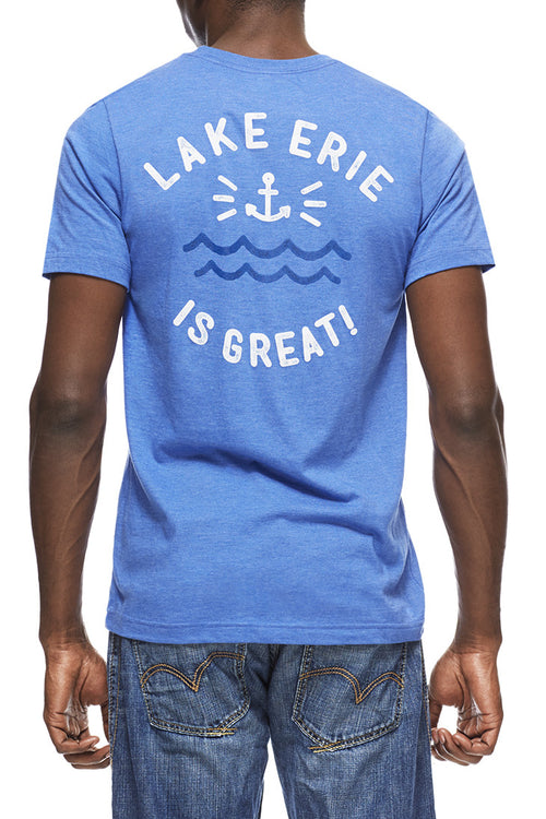 Lake Erie Is Great! - Unisex Pocket Crew