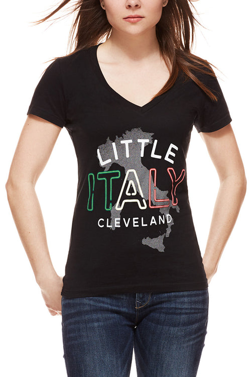 Little Italy - Women's V-Neck