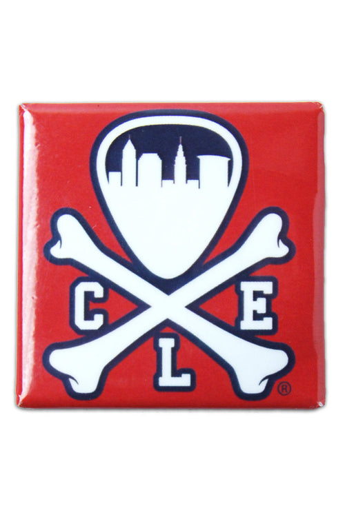 CLE Logo - Navy/Red - Fridge Magnet