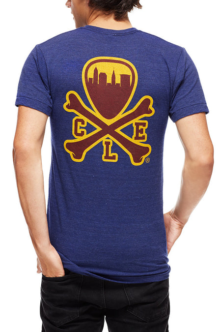 Believeland Wine & Gold - Womens Crew