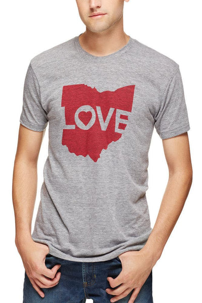 Ohio Love Logo Unisex Crew Cle Clothing Co