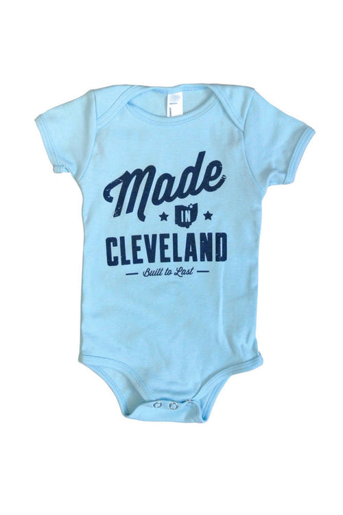 Made In Cleveland - Onesie (Blue)