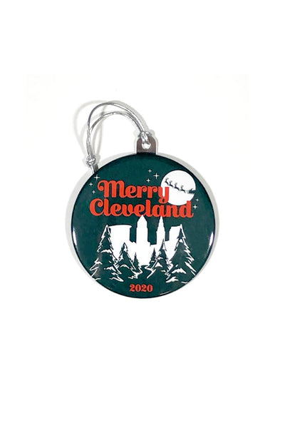 Merry Cleveland Ornament
